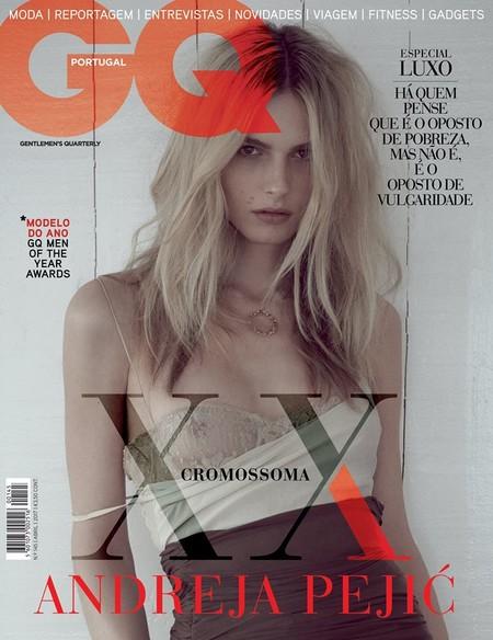 Andreja Pejic rompe el internet al ser la primera chica transgénero en ser portada para una edición de GQ