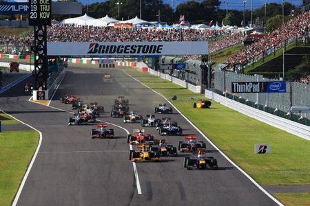 Gran Premio de Japón de Fórmula 1. Vitaly Petrov sancionado, Felipe Massa no