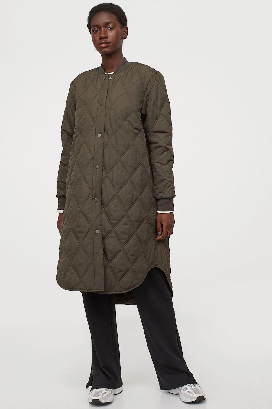 Abrigo outdoor guateado