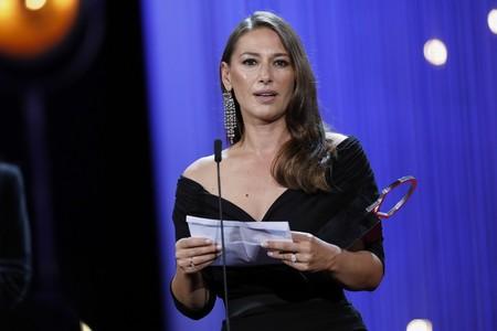 Las premiadas en el Festival de Cine de San Sebastián
