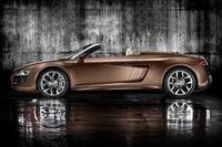 Audi R8 Spider, póngame un V10 con techo de lona