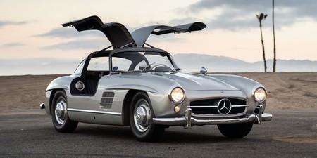 """A subasta el Mercedes-Benz 300 SL """"Gullwing"""" del vocalista de Maroon 5"""