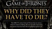 Los motivos de las muertes de 'Juego de Tronos', la imagen de la semana