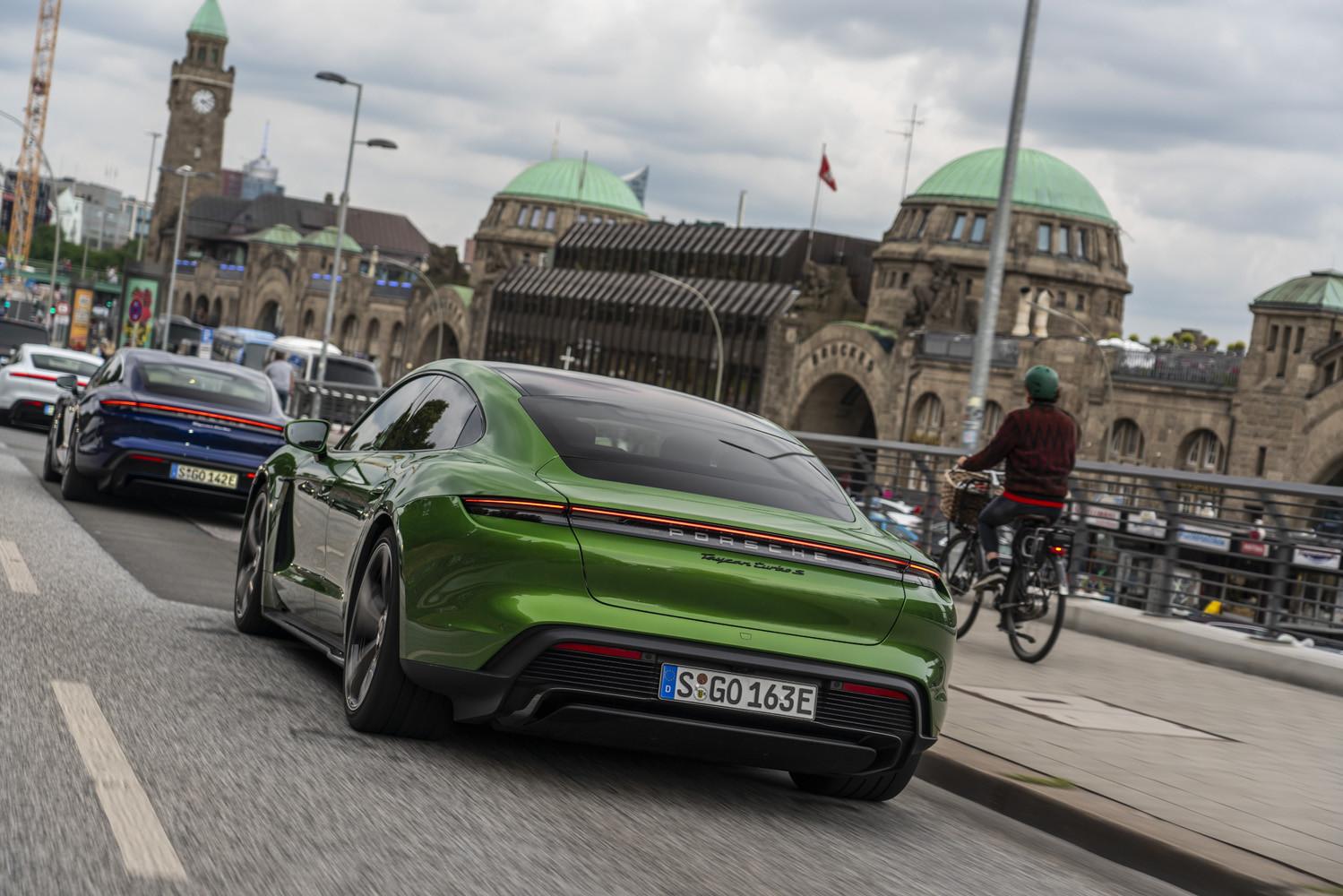 Foto de Porsche Taycan prueba contacto (136/275)