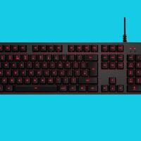 Este teclado gaming de Logitech es de los más vendidos, mecánico y retroiluminado. Y ahora puedes hacerte con él en oferta por poco más de 50 euros en Amazon