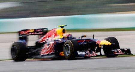Mark Webber inalcanzable en las sesiones libres del Gran Premio de Malasia