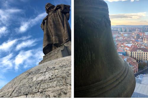 Subir a lo más alto de la Catedral de Valladolid