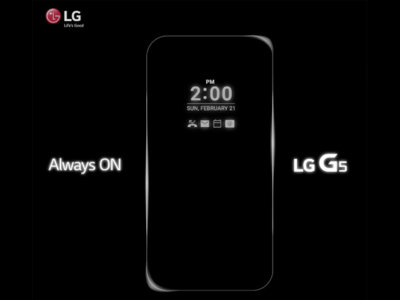 LG se apunta a las pantallas Always On con el LG G5 y nos muestra su funda Quick Circle