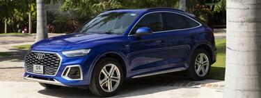Audi Q5 Sportback, al volante de un SUV que juguetea con el concepto de coupé