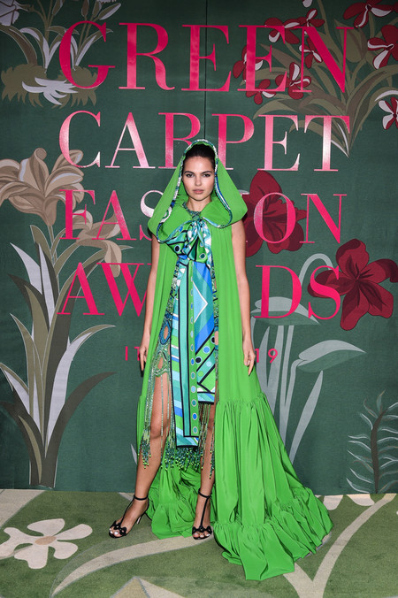 Doina Ciobanu green carpet fashion awards 2019