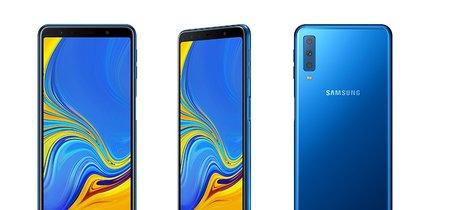 Samsung Galaxy A7 (2018): así es el primer smartphone con tres cámaras de la compañía para la gama media-alta