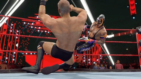 WWE 2K22 llega más tarde de lo esperado y lo anuncian con un breve avance: nuevos controles y mejores gráficos