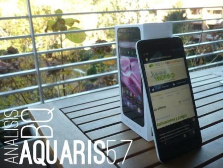 bq Aquaris 5.7 a examen en Xataka Android