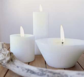 Decorar con velas I: Clases de velas
