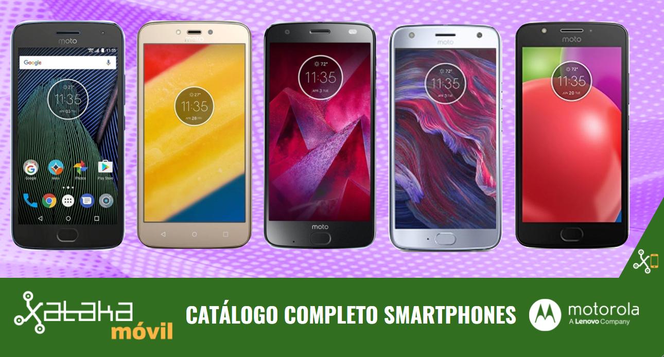 3435a81621c Moto X4 by Lenovo, así encaja dentro del catálogo completo de smartphones  Motorola en 2017