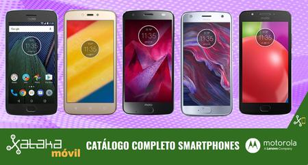 Moto X4 by Lenovo, así encaja dentro del catálogo completo de smartphones Motorola en 2017
