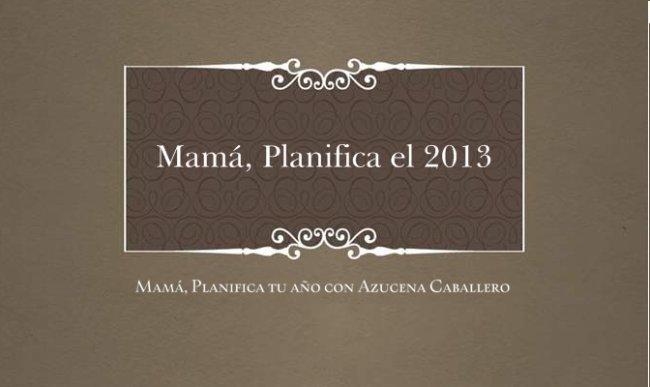 planifica el 2013
