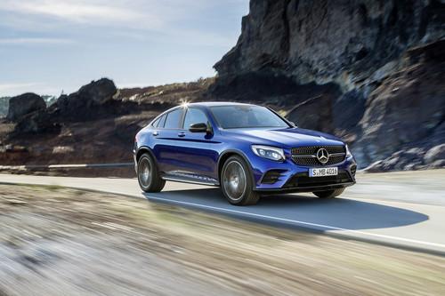 Mercedes-Benz GLC Coupé: así luce en exclusiva desde Nueva York