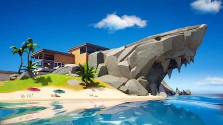 Desafío Fortnite: visita el Tiburón, Reposo Rápido y Barranco Bello. Solución