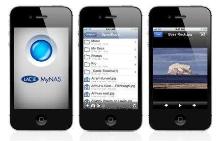 Lacie MyNAS, una aplicación para acceder a los discos en red de la marca