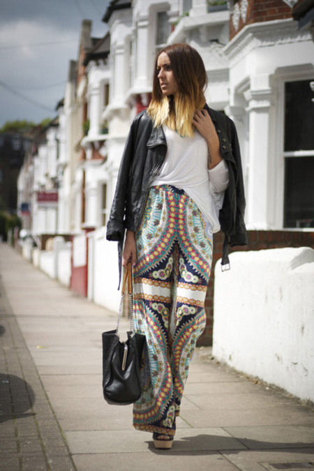 Moda en la calle: locas por África