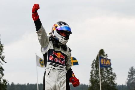 Mattias Ekström cumplió su sueño de ganar en casa