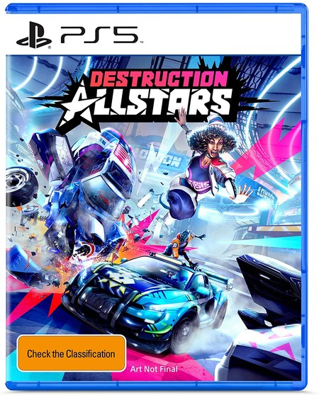 Destruction All Stars Ps5 Box