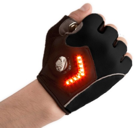 Guantes luminosos