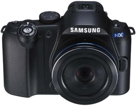 Samsung NX10, primera cámara con sistema NX ya en camino