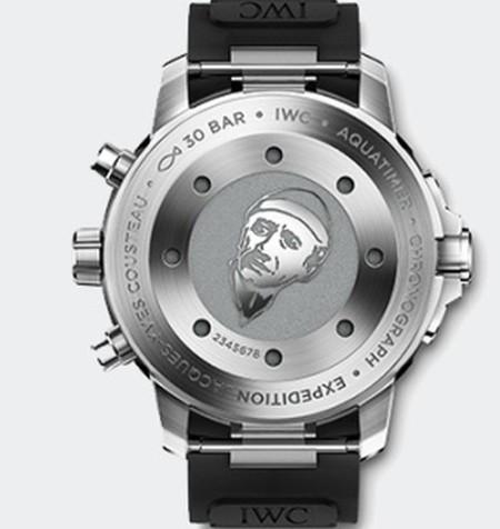Nueva colección de relojes Aquatimer 2014 de IWC Schaffhausen en homenaje a Cousteau