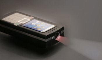 Proyectores integrados en los móviles antes de fin de año