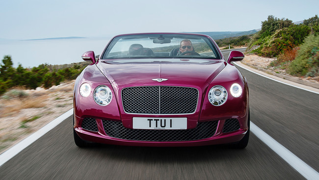 Bentley Continental GTC Speed (2013)