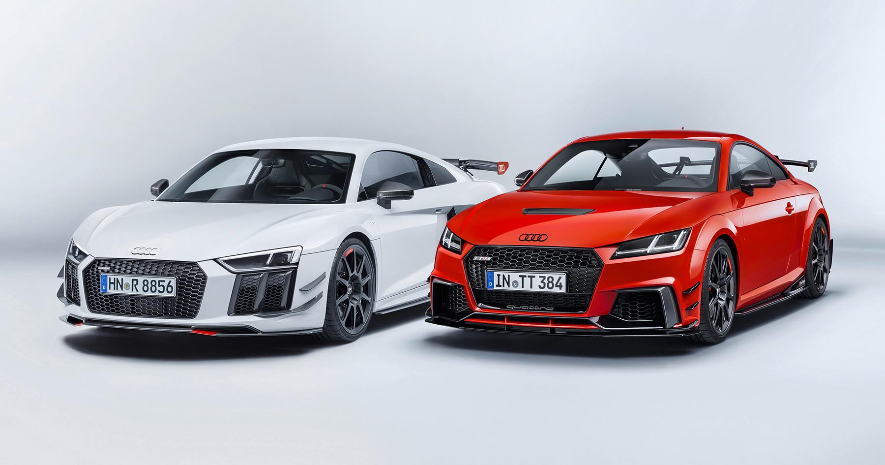 Foto de Audi Sport Performance Parts le inyecta más deportividad al R8 y TT (1/10)