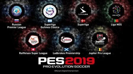 Estas son las siete ligas que PES 2019 ha asegurado