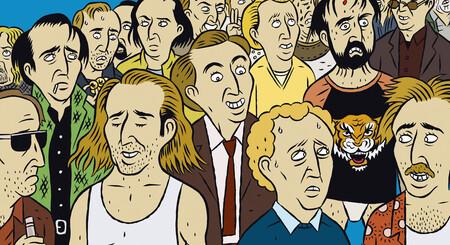 """""""Nicolas Cage ha aprovechado la fama de sus memes"""". Paco Alcázar y Torïo García, autores de 'Las 100 primeras películas de Nicolas Cage'"""
