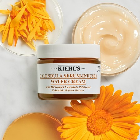 kiehls calendula serum infuser water cream