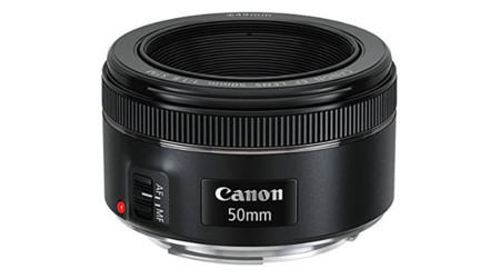 El EF 50mm f1.8 STM de Canon, a 112,60 euros en Amazon