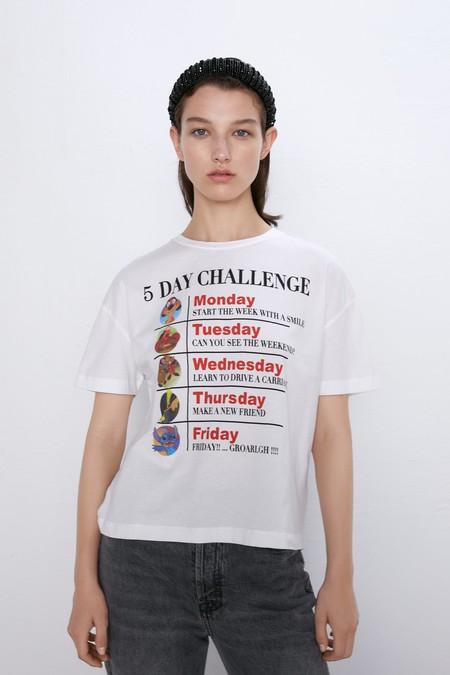 Camiseta Disney Zara 12