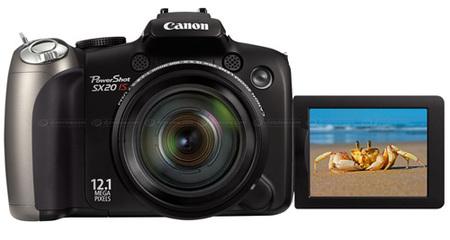 Nuevas ultrazoom de Canon: Powershot SX120 IS y SX20 IS