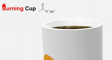 Burning Cup, un concepto de taza capaz de calentar la bebida