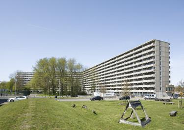 Un gigantesco edificio de viviendas de Ámsterdam, premio Mies van der Rohe de arquitectura