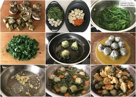 Paso A Paso Menestra De Verduras