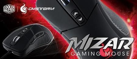 CM Storm Mizar es un mouse diseñado para jugar con comodidad