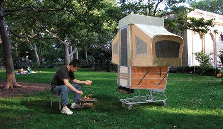 Campamento en versión mini