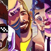 Así es como se ven 7 youtubers ilustrados por Ivart