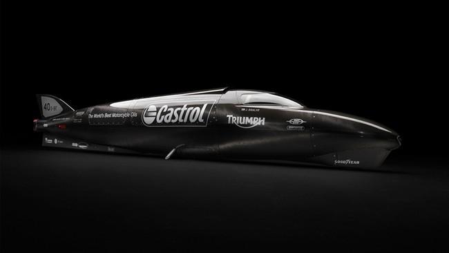 Castrol Rocket, el último desafío de Triumph en Bonneville