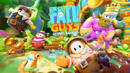 'Fall Guys' llega a la jungla en su temporada 5 con seis nuevas rondas, eventos de tiempo limitado y shows de dúos y tríos