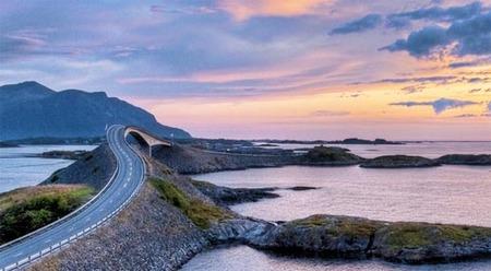 La carretera del Atlántico (Noruega): un viaje de ensueño