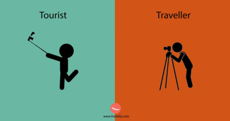 ¿Sabrías diferenciar a un turista de un viajero? Con estas viñetas, todo es posible