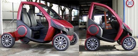 Otro vehículo plegable nacido en España ¿la competencia del Hiriko Fold?